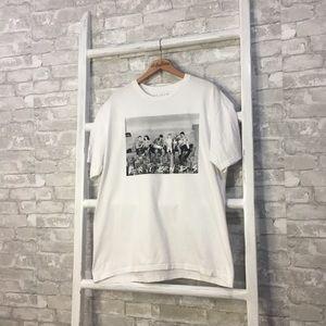 Friends TV Show Unisex White T-Shirt Size XL